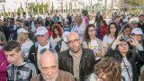 עצרת למען ניצולי השואה כיכר הבימה